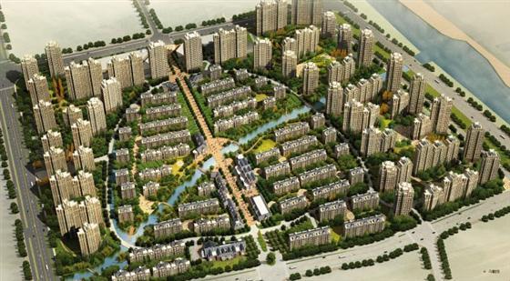 新港天城高层、多层在售  均价7000元/平米最高优惠达15万元