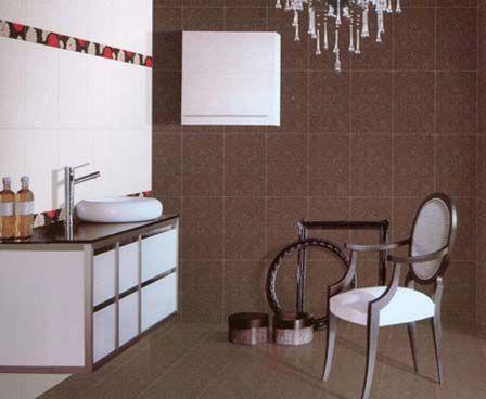 腰线扮靓也疯狂 卫浴间中演绎的魔法空间