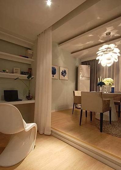 5万装100平蓝色酒店式安静公寓