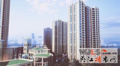高层住宅效果图-华邦国际 吴江首座超高层商务楼