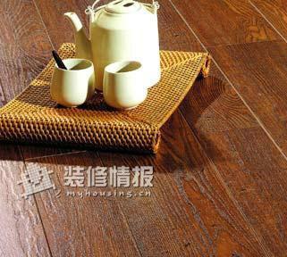 家居保养常识 强化木地板保养有窍门