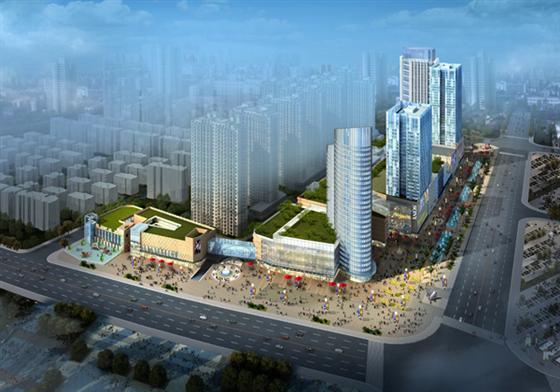 首席城市中央综合体——恒达广场魅力解读