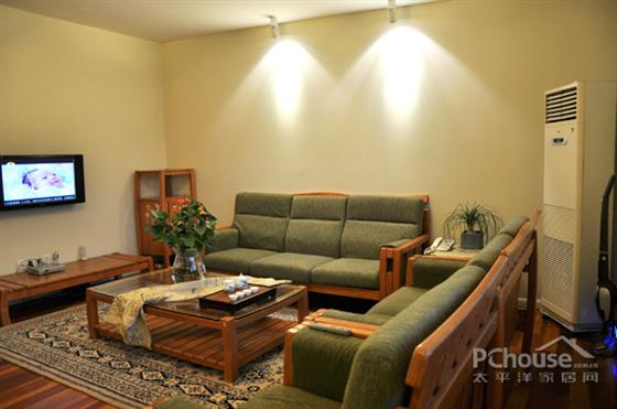 二手房空间装修 10万装100平3口之家