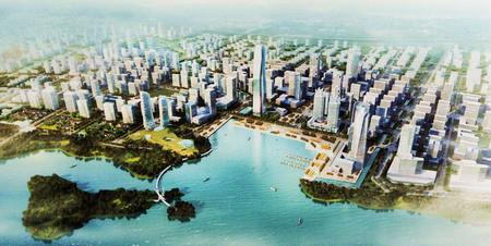 规划的重要组成部分,东太湖新城将建设成为横跨吴中、吴江两
