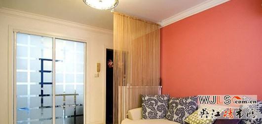 客厅隔断装修效果图 小户型个性设计