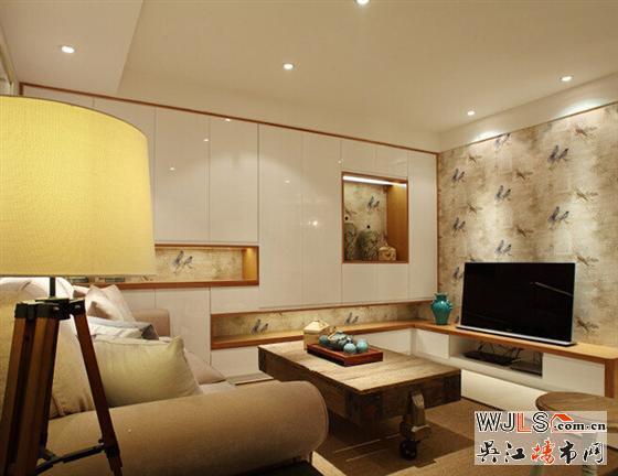 美式范儿的舒适客厅