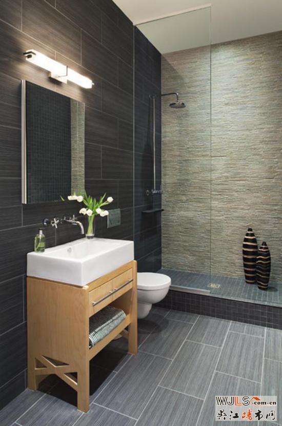 小型卫浴这样设计才好看!