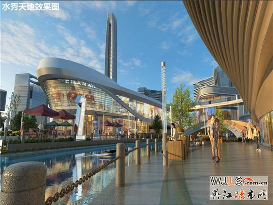 12月16日吴江太湖新城迎来重磅大型商业综合体—水秀天地