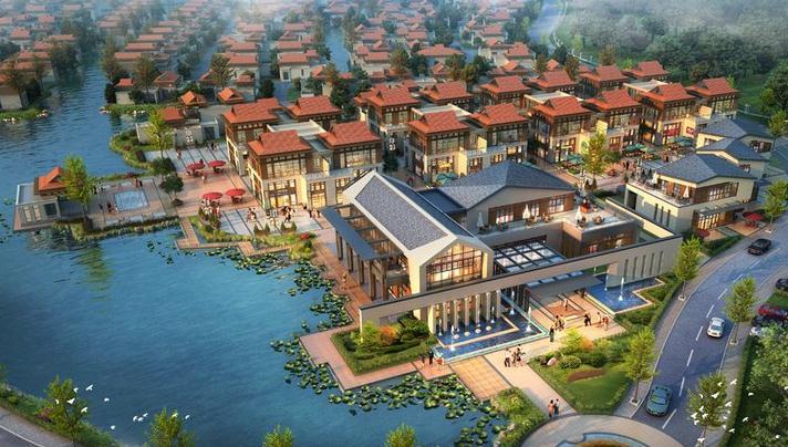 吴江汾湖房产-碧桂园十里江南