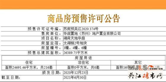 湖湾天地领预售证  备案均价21632.6元/平方