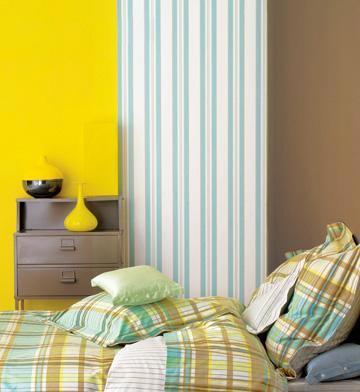 14款缤纷多彩的卧室背景墙